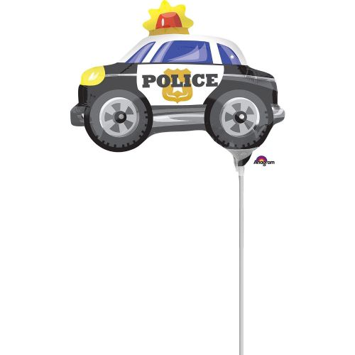 Police Car Mini Shape Flat